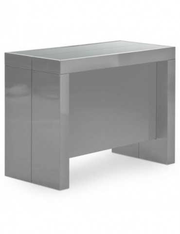 Table Console Pandore Gris at8028lgrislaque
