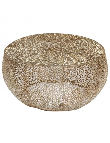 Table basse Corail Or 34624