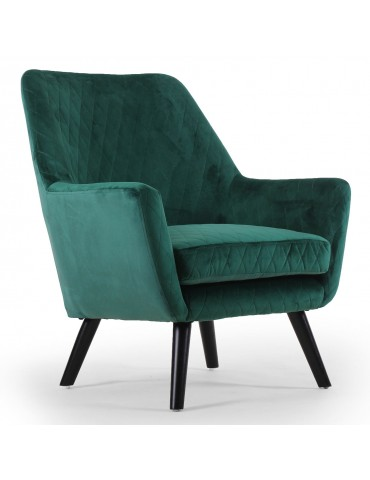 Fauteuil Madere Velours Vert qh8938green