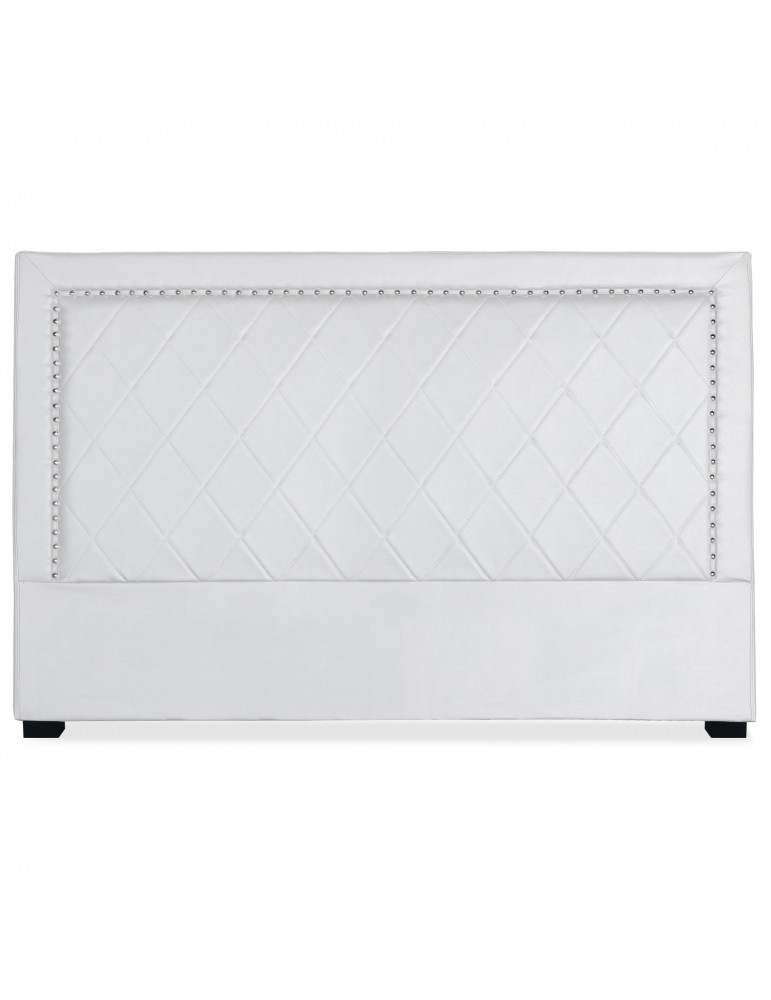 Tête de lit Meghan 180cm Simili P.U. Blanc lf258180blanc