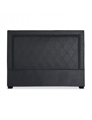 Tête de lit Meghan 160cm Simili P.U. Noir lf258160noir