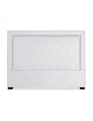 Tête de lit Meghan 160cm Simili P.U. Blanc lf258160blanc