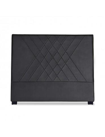 Tête de lit Diam 140cm Simili P.U. Noir lf257140noir