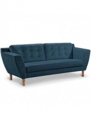 Canapé 3 places Gibus Tissu Bleu hm1651320116bleu