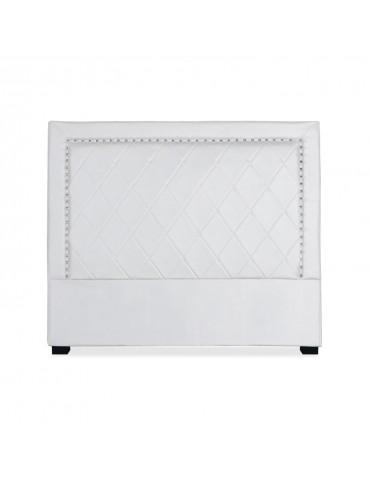 Tête de lit Meghan 140cm Simili P.U. Blanc lf258140blanc