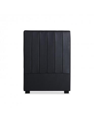 Tête de lit Mabel 90cm Simili P.U. Noir lf25990noirpu