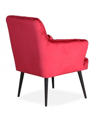 Fauteuil Octave Scandinave Velours Rouge Rouge Octave Velours Fauteuil Fauteuil Scandinave mwynNPv80O