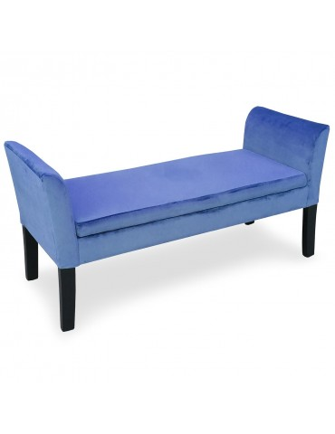Banquette-coffre Idor Velours Bleu 5072bluevelvet