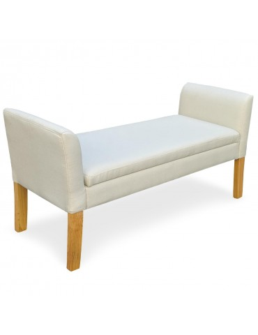 Banquette-coffre Idor Tissu Beige 5072beigefabric