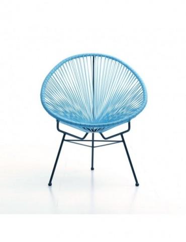 SD3001 Bleu - Fauteuil design SD3001-BLUE