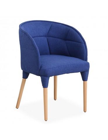 Chaise / Fauteuil Cielo Tissu Bleu lf0148royalbleu
