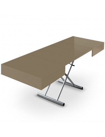 Basse Basse Table Cassidy Taupe Relevable Table hQdCrxts