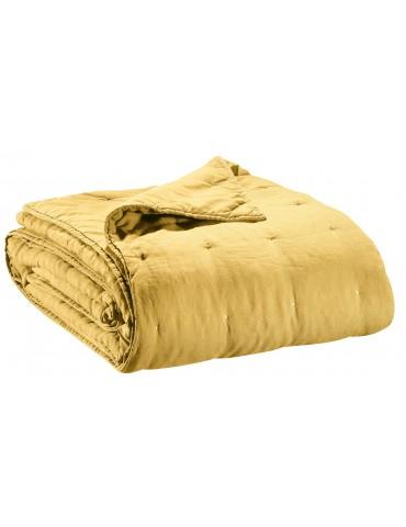 Jeté de lit stonewashed Zeff Absynthe 240 x 260 7050040000Vivaraise