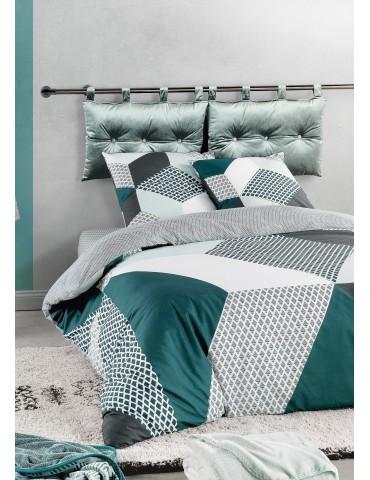 Parure de lit Boreal Imprimé 240 X 220 avec housse de couette et taie(s) d'oreiller 6919000503Les Ateliers du Linge