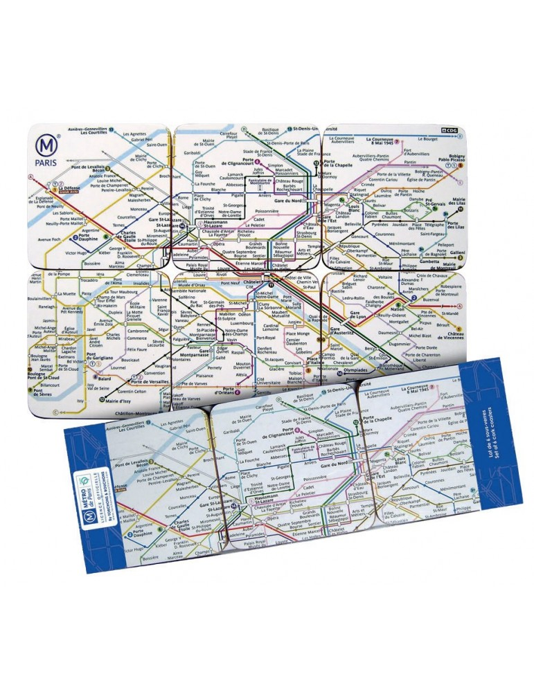 Sous Verres RATP Par 6 8499304000Ça et Là