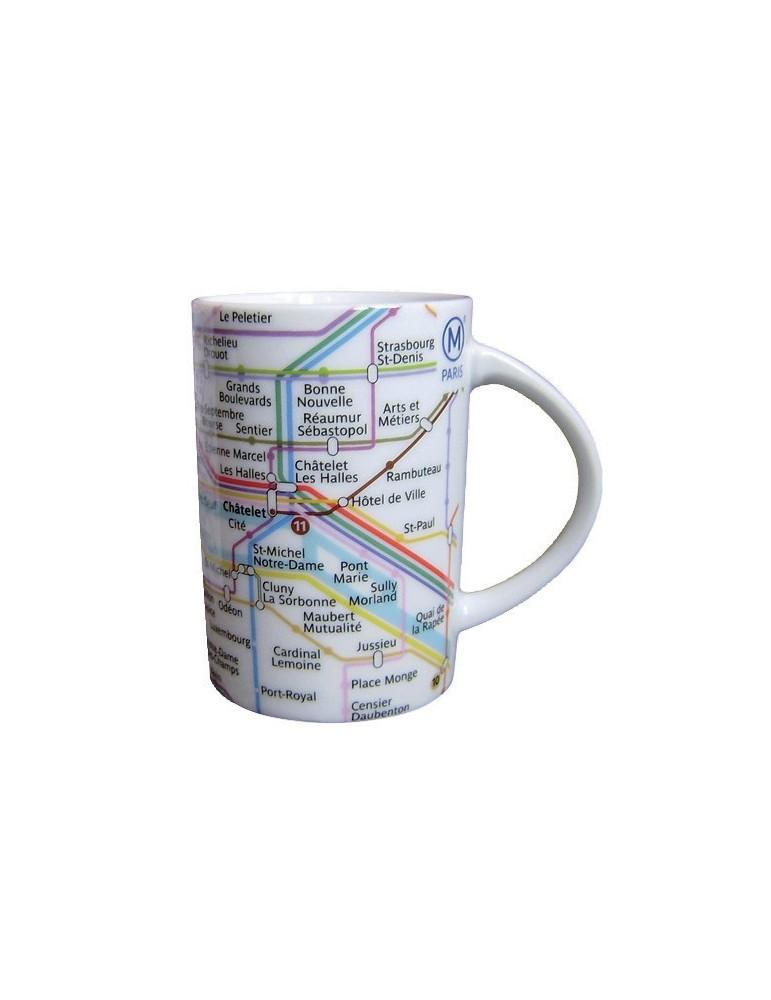 Mug RATP Plan Avec Boite 8499312000Ça et Là