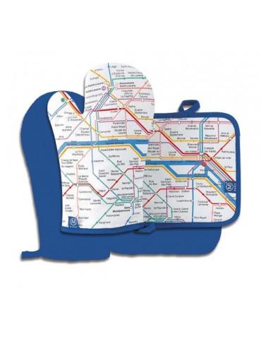 Gant+Manique Plan RATP 8964010602Ça et Là