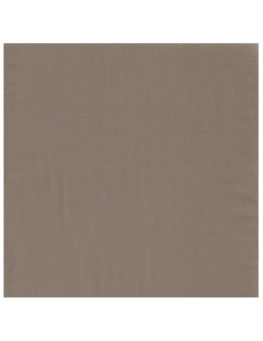 Serviette de table Unis taupe 6547081000Winkler