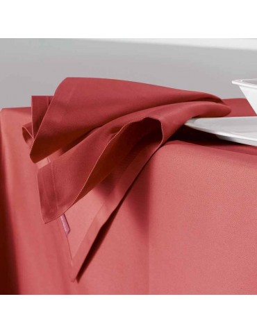 Serviette de table SOFT rouge 4241030000Winkler