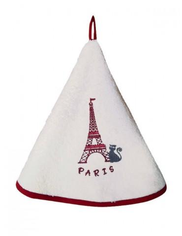 Essuie-mains Tour Eiffel Ivoire 60 cm 7685015000Ça et Là