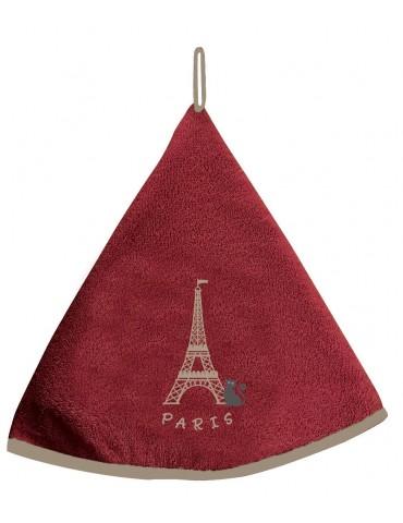 Essuie-mains Tour Eiffel Rouge 60 cm 7685030000Ça et Là