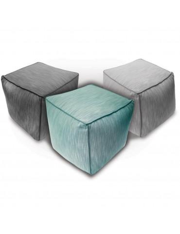 Pouf Slub Stone 50 x 50 x 50 1036071072Les Ateliers du Linge