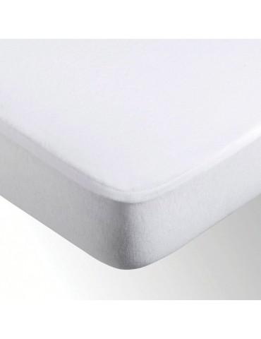 Protege Matelas Microfibre Enduit Blanc 80 X 200 X 30 5318013501Les Ateliers du Linge