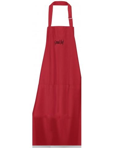 Tablier Grand Chef Rouge 75 X 90 2254030000Winkler
