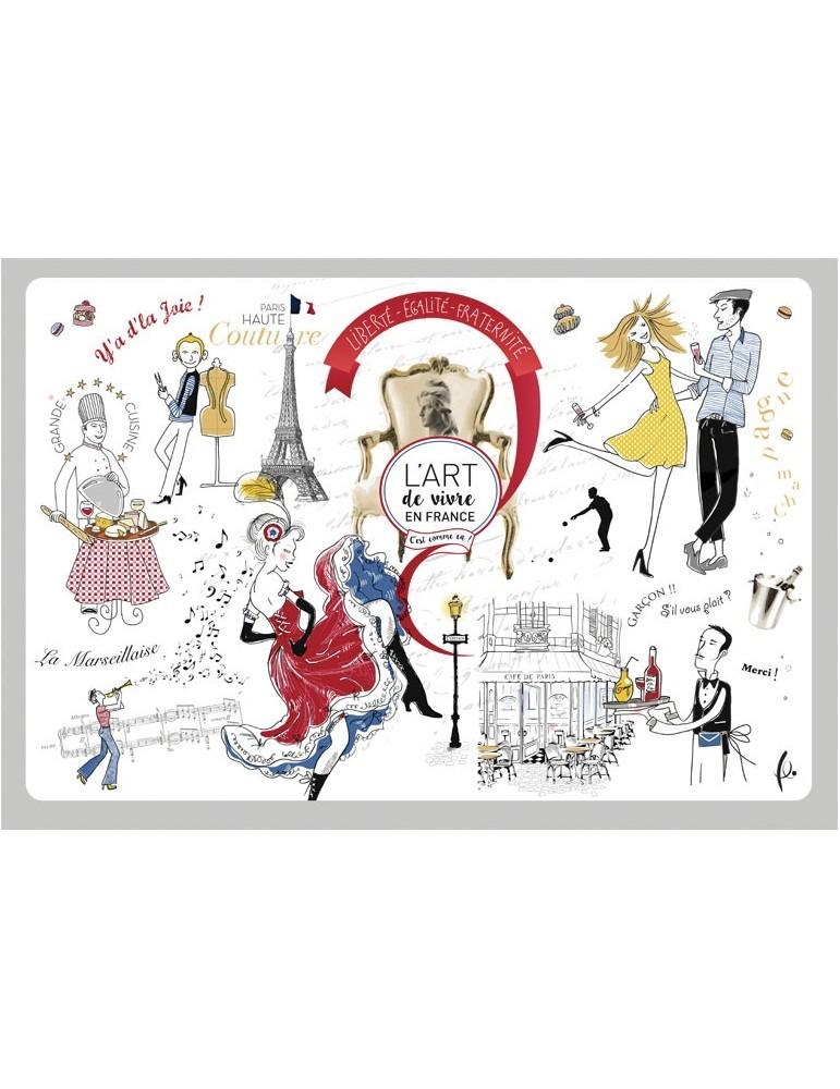 Set de table Art de vivre Assortis 30 X 45 2979090000Torchons & Bouchons