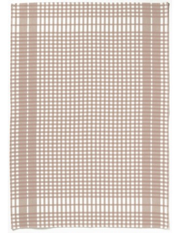 Torchon Petits Carreaux taupe 6119097000Winkler