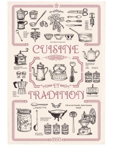 Torchon Cuisine et Tradition Ecru 48 X 72 3820010000Torchons & Bouchons