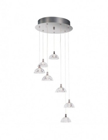Suspension Calvin LUS006-Transparent
