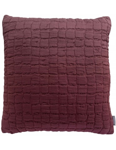 Coussin Stonewashed Swami Prune 45 X 45 2909050000Winkler