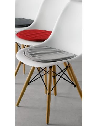Galette de chaise Skandi Gris 38 x 38 x 2 cm 3422070000Les Ateliers du Linge