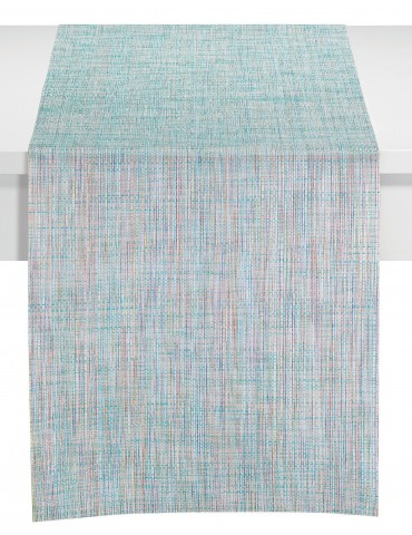 Chemin de table lina Turquoise/Multicolore 45 x 150 3488060000Winkler