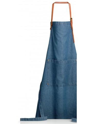 Tablier de cuisine Dinem Bleu denim 70 x 90 2095060000Winkler