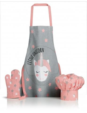 Tablier, toque et gant de cuisine Unicorn Perle 52 x 63 6924030103Winkler