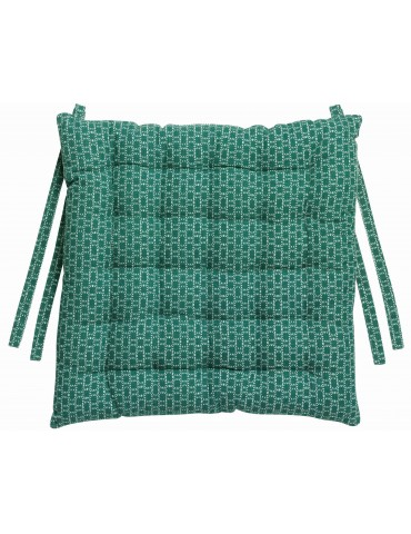 Coussin de chaise Zaro Emeraude 40 x 40 x 5 cm 4187025000Winkler
