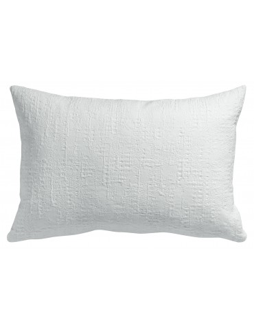Coussin Stonewash Santana Blanc 30 x 50 2018010000Winkler