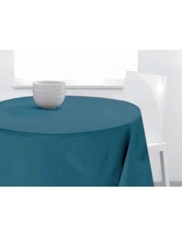 Nappe ronde uni Pes Bleu denim 0 x 140 4320063601Les Ateliers du Linge