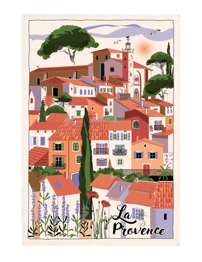 Torchon Village Provence Ecru 48 x 72 7012010000Torchons & Bouchons