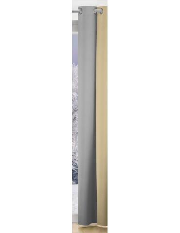 Rideau isolant Gris 135 x 260 8123071000Les Ateliers du Linge