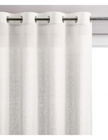Rideau Voile Zeff Blanc 140 x 280 7130010000Vivaraise