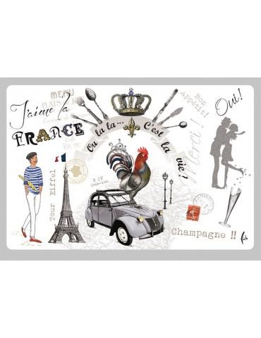 Set de table France Panorama Assortis 30 X 45 3003090000Torchons & Bouchons