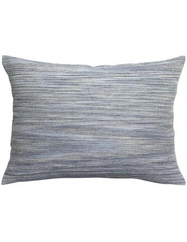 Taie d'oreiller stonewashed Pacome Indigo 50 x 75 1308398000Vivaraise