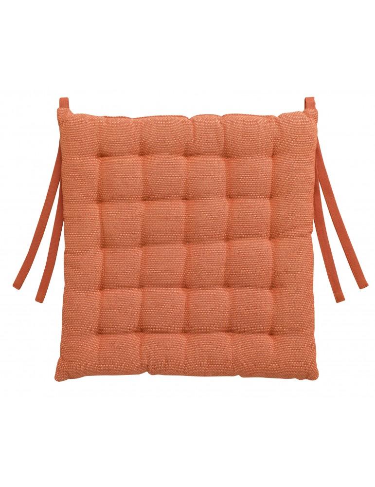 Galette de chaise Kalan Flamingo 38 x 38 x 3 7424035000Les Ateliers du Linge