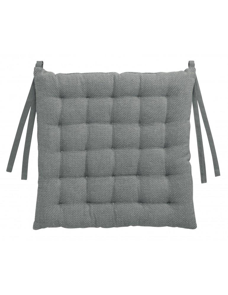 Galette de chaise Kalan Ombre 38 x 38 x 3 7424075000Les Ateliers du Linge
