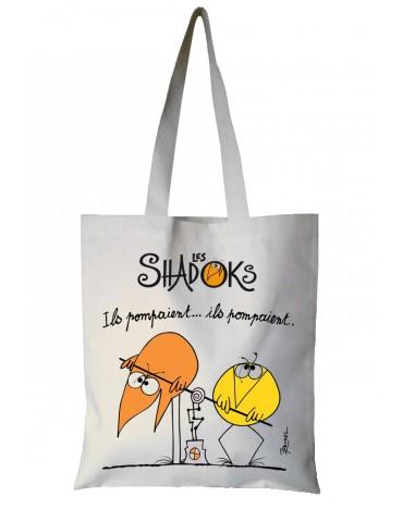 Sac Shadoks Ils pompaient Ecru 35 x 40 7097010000Torchons & Bouchons