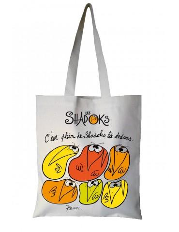 Sac Shadoks C'est plein de Shadoks Ecru 35 x 40 7110045000Torchons & Bouchons