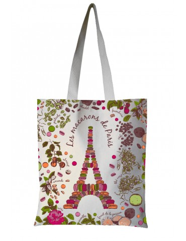Sac Macarons de Paris Ecru 35 x 40 7135010000Torchons & Bouchons